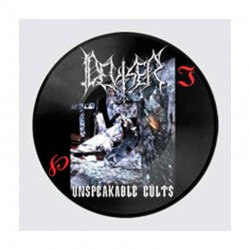 DEVISER - Unspeakable Cults LP Picture Disc, Ltd. Ed.