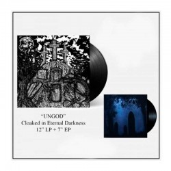 """UNGOD - Cloaked In Eternal Darkness LP + 7"""" EP Ed. Ltd."""