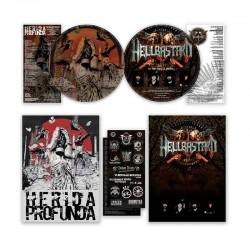 HERIDA PROFUNDA/HELLBASTARD - Herida Profunda / Hellbastard LP, Picture, Split, Ltd. Ed.