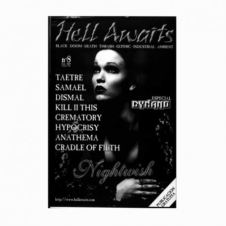 REVISTA HELL AWAITS Nº8