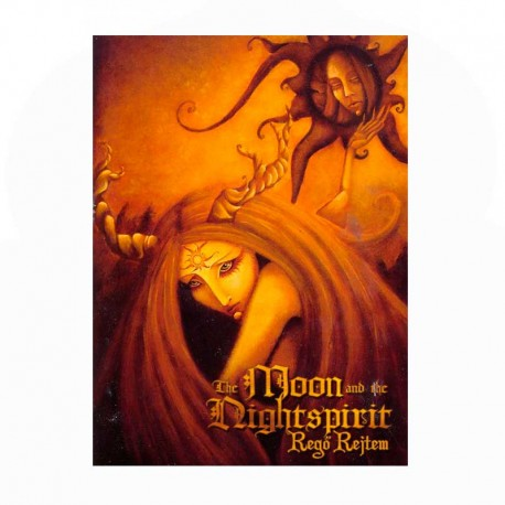 THE MOON AND THE NIGHTSPIRIT - Regö Rejtem - CD Digibook A5