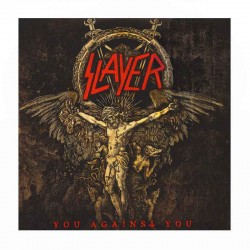 """SLAYER - You Against You- 7"""" Splatter Red with White"""