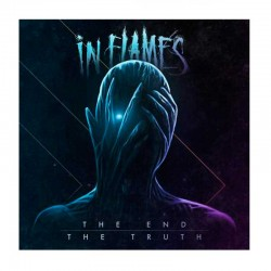 """IN FLAMES - The End/The Truth 7"""" Clear"""