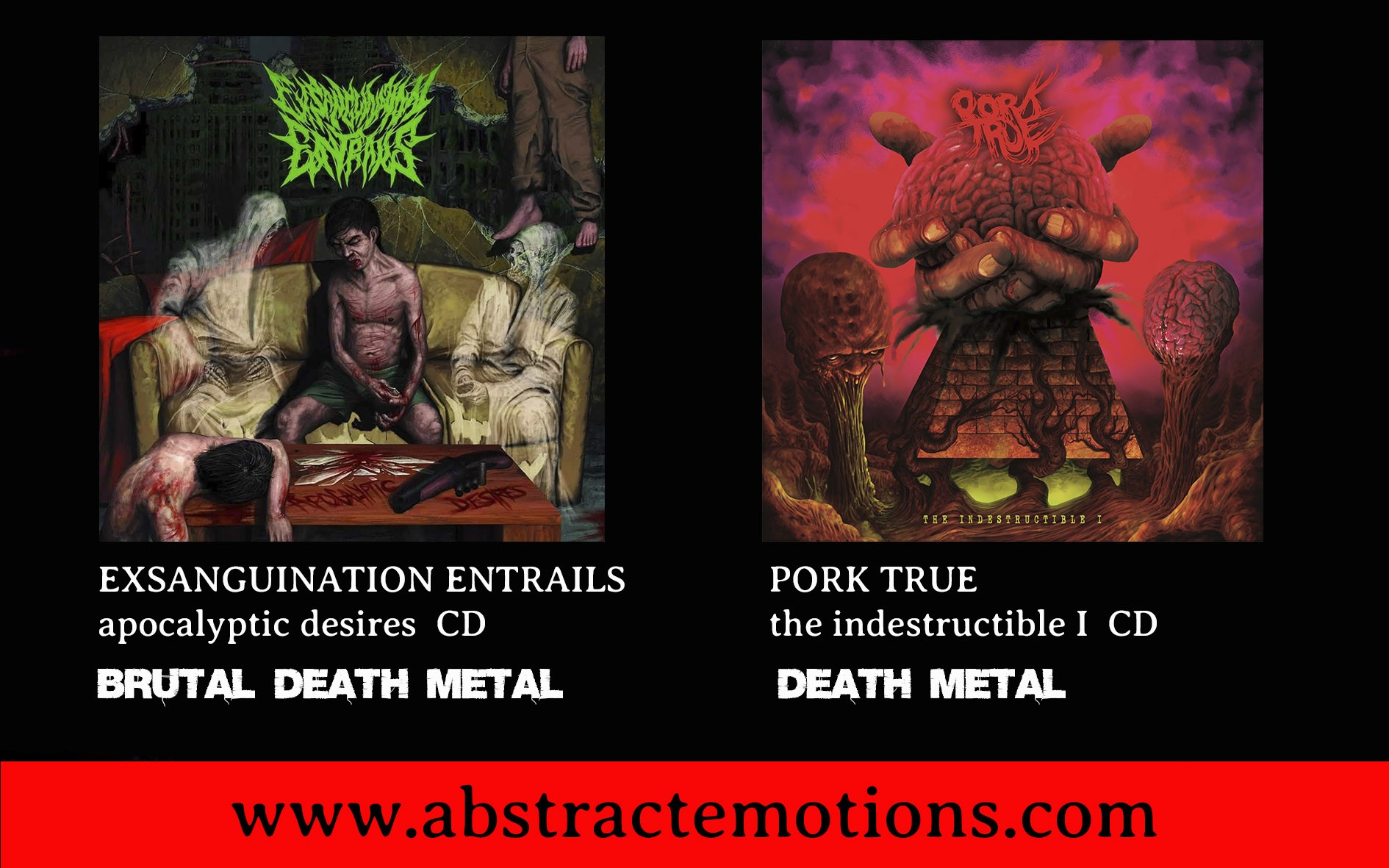 PORK TRUE & EXSANGUINATION ENTRAILS